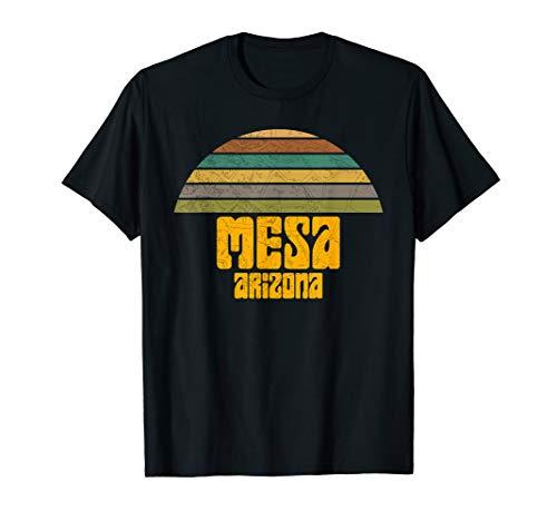 BACK TO SCHOOL VINTAGE 70s 80s STYLE MESA AZ Distressed  T-Shirt -