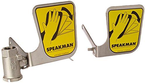 Speakman SE-910-SSBV Plastic 100 Lb. Capacity Ball Assembly Emergency Eyewash Systems, 4.1