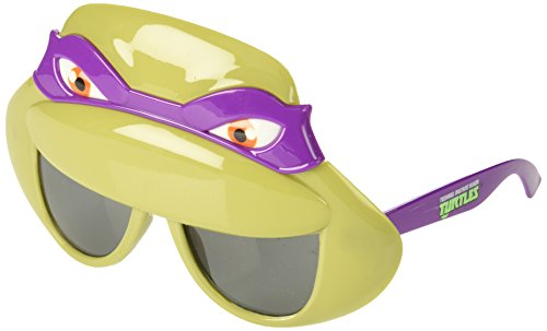 Costume Sunglasses TMNT Purple Mask Sun-Staches Party Favors UV400]()
