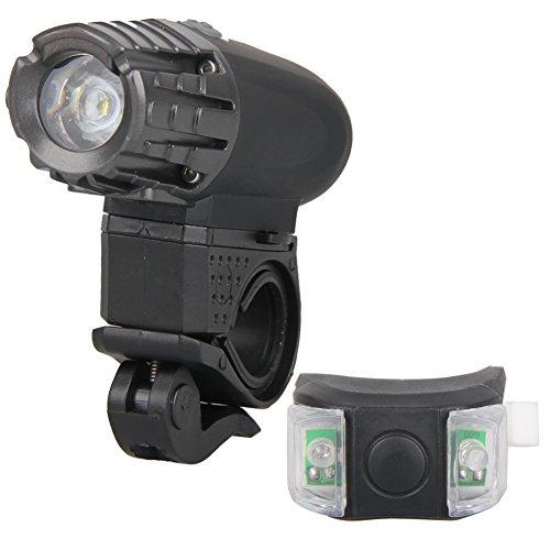 Diamondo Super Bright USB Rechargeable Bike Front Light Waterproof Easy Installation