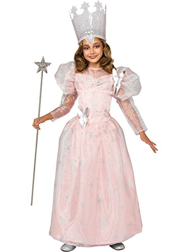 Deluxe Glinda the Good Witch Child Costume - Medium - Good Movie Character Costume Ideas