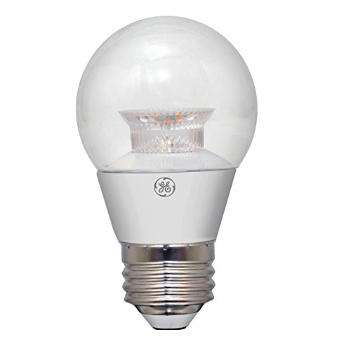 GE Lighting 37948 Dimmable LED A15 Ceiling Fan Bulb with Medium Base, 7-Watt, Clear