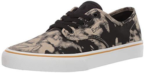 Emerica Men's Wino Standard Skate Shoe, Black WASH, 8.0 Medium - Canvas Shoes Wash