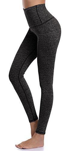 Aenlley Womens High Waist Yoga Pants Tummy Control Workout Training Tight Legging