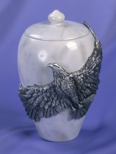 Angelstar Eagle's Flight, 8-3/4-Inch, 60 Cubic - Eagle Vase