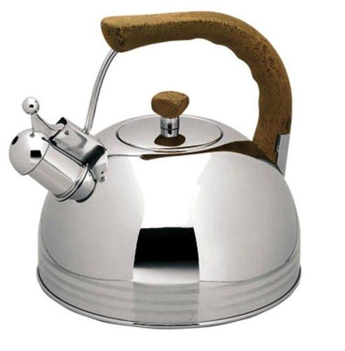 Lacor 68649 - Cafetera silbante inox 5.0 ltos.: Amazon.es: Hogar