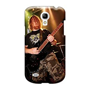 Shock-Absorbing Hard Phone Covers For Samsung Galaxy S4 Mini (Sew1245rXgJ) Unique Design High Resolution Cryptopsy Band Pattern
