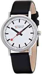 Mondaine Classic Gents - Polished - 36 mm - white dial -  A660.30314.11SBB
