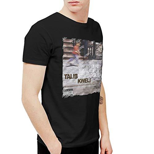 HuiXieJian Men's Talib Kweli The Beautiful Struggle T Shirts Black 4XL