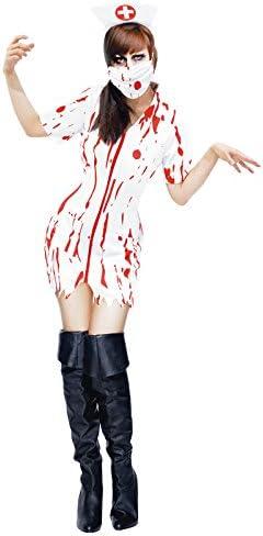 Disfraz Enfermera Zombie para mujer (M): Amazon.es: Juguetes y juegos