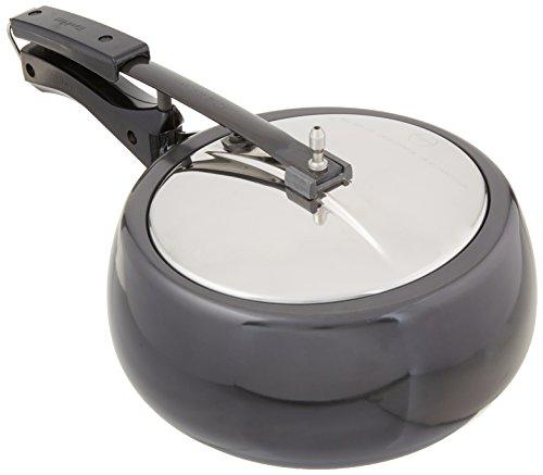 Hawkins CB35 Hard Anodised Pressure Cooker, 3.5-Li…
