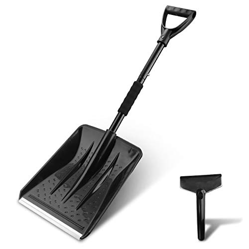 V VONTOX Snow Shovel