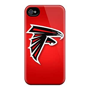 Premium Atlanta Falcons Covers Skin For Iphone 4/4s