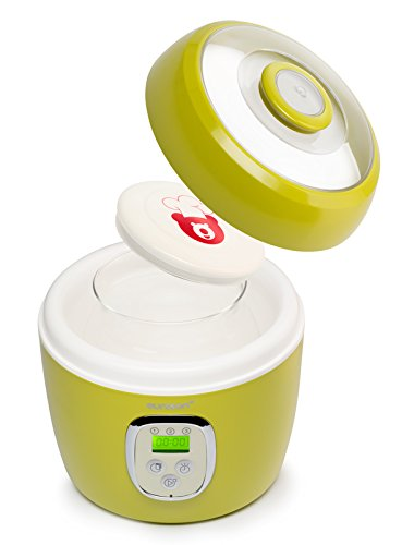 Ouruz FE0205D/GA Yogurtiere, Mela Verde [Classe di efficienza energetica A] Oursson
