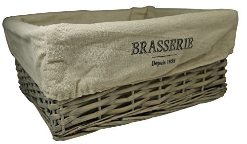 khevga Brasserie Bread Basket, Made from Willow, Storage Basket by khevga