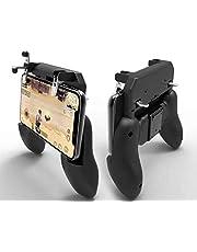 أداة تحكم بالألعاب بمقبض تحكم لاسلكي خاص بالعاب الهاتف W10  يد التحكم في اطلاق النار مزودة بمفتاح الزناد لاندرويد اي او اس.