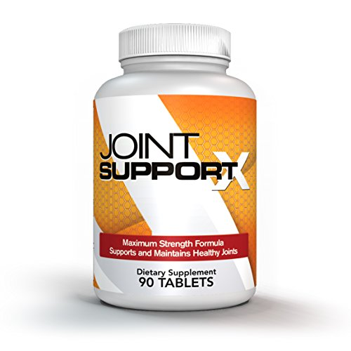 Joint Support X – Ultimate Complex with Maximum Strength Joint Support Supplement, MSM, Glucosamine, Chondroitin, Herbal Extracts, Vitamins, Minerals and Amino Acids – 90 Capsules One Month Supply Review