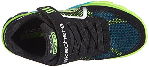Skechers 95676L - Zapatillas de deporte, Niños Negro (BKLM)
