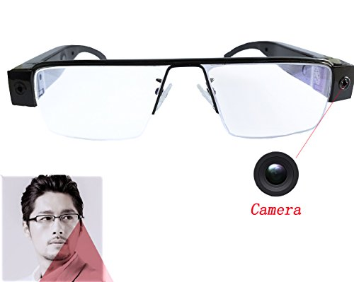 JOYCAM 1080P Camera Glasses Video Recording HD Eyewear DVR Camcorder for Men and - Eye Camera Glasses