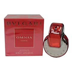 Omnia Coral By Bvlgari Eau De Toilette Spray For Women 2.2 oz. Top Notes: Bergamot and Goji Berries Heart Notes: Hibiscus Flower and Water Lily Base Notes: Pomegranate and Cedar Wood