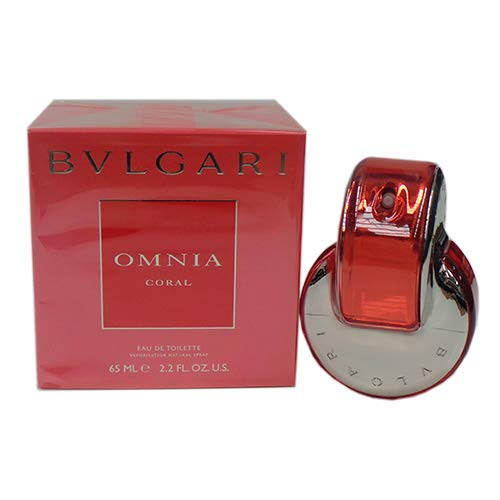 Coral Spray - Omnia Coral By Bvlgari Eau De Toilette Spray For Women 2.2 oz