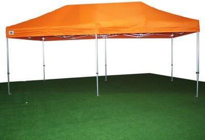 Carpa Plegable 3x6 de Aluminio Reforzado color Naranja: Amazon.es ...
