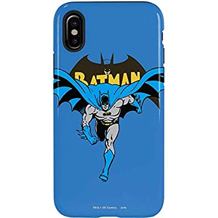 sports shoes 1e967 064f3 Amazon.com: Batman iPhone Xs Max Case - Warner Bros | Skinit Pro ...