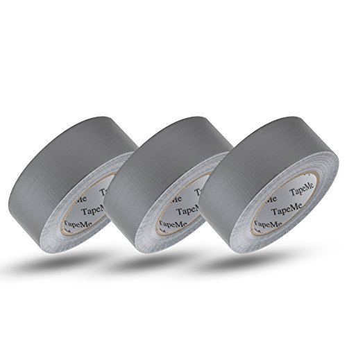 Tape-Me Duct Tape Silver, 1.88 in x 55 yd (Pack of 3)