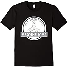 Mesothelioma Pearl Ribbon Support Walk T-shirt