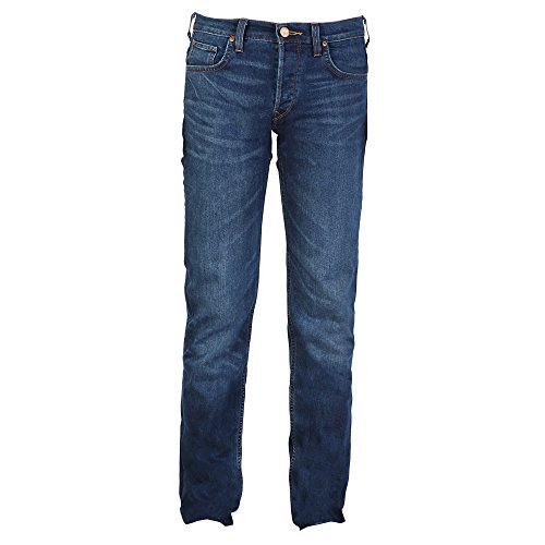 Pantalones Modelo hombre vaqueros Powell caballero azul Slim Lee medio Low x7dqnAA1