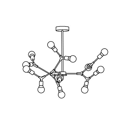 Twig Pendant Light Fixture in Florida - 1