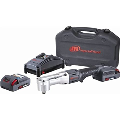 Ingersoll-Rand - W5350-K22 - 1/2 Cordless Impact Wrench Kit, Voltage 20.0 Li-Ion, Battery Included (Ingersoll Rand Angle Impact)