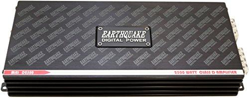 Earthquake Sound Mini D2500 2nd Gen Mono Block Class D 2500