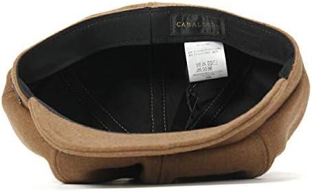 (キャバレロ) CABALLERO キャスケット ELCIEGO MELTON M/L 約59cm