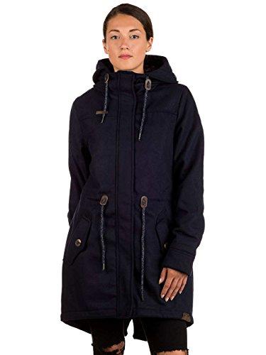 Ragwear Melange Navy Coat Elba Blue Wq00zZYT6