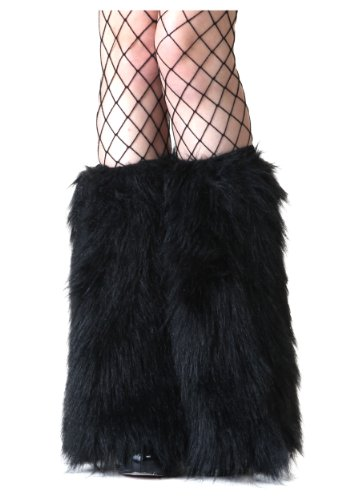 Fun Costumes Adult Black Furry Boot Covers Standard]()