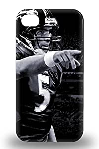 Tpu NFL Baltimore Ravens Joe Flacco #5 3D PC Case Cover Protector For Iphone 4/4s Attractive 3D PC Case ( Custom Picture iPhone 6, iPhone 6 PLUS, iPhone 5, iPhone 5S, iPhone 5C, iPhone 4, iPhone 4S,Galaxy S6,Galaxy S5,Galaxy S4,Galaxy S3,Note 3,iPad Mini-Mini 2,iPad Air )