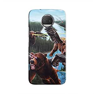 Cover It Up - Flying Bears Moto G5s Plus Hard case