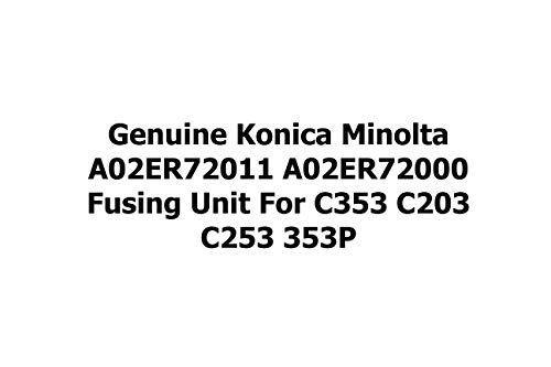 Genuine Konica Minolta A02ER72011 A02ER72000 Fusing Unit for C353 C203 C253 353P