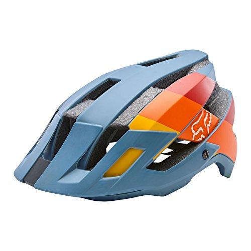 Fox Racing Flux Helmet Drafter Slate Blue, L/XL (Fox Transition Helmet Bike)