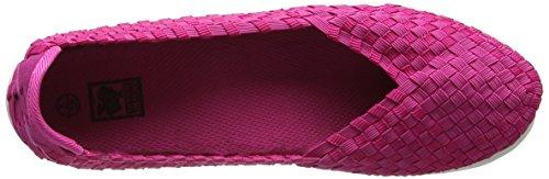 Spot On F80219, Bailarinas para Mujer rosa (Fuchsia)