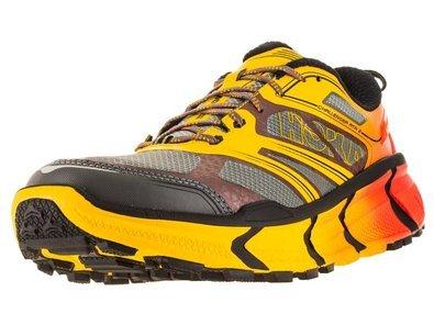 Hoka One One Challenger ATR 2 Mens Running Shoe (11, Grey/Empire Yellow)