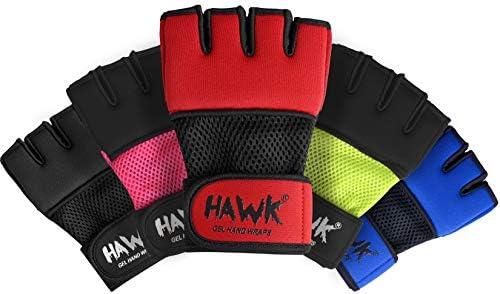 Vendas de Boxeo para Hombres y Mujeres MMA Kickboxing Muay Thai Cross Training Speed Punching Bag Mitts Quick Wrap Muñequeras de Gel Debajo de Guantes Interiores de Calidad Suprema, S, Rojo: Amazon.es: