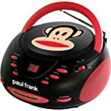 Paul Frank PF224BK Stereo CD Boombox with AM/FM Radio