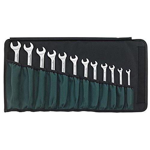 生活日用品 DIYグッズ工具 17/12 ラチェットコンビネーションレンチセット (96411712) B07565J3MN