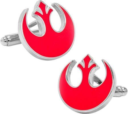 Cufflinks Inc Men's Star Wars Rebel Alliance Symbol Cufflinks