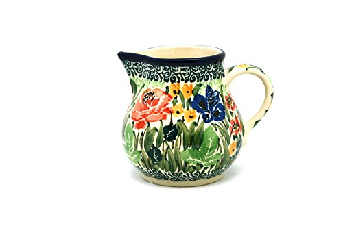 Polish Pottery Creamer - 4 oz. - Unikat Signature U4400