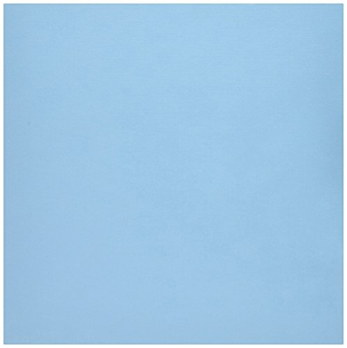 American Craft Baby Paper - American Crafts 71470 Textured Cardstock (25 Pack), Pacific