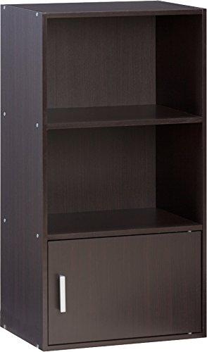 Comfort products 50 6522es small modern bookshelf espresso for Amazon small bookshelf