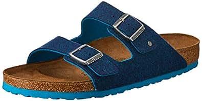 Birkenstock Australia Women's Arizona Sandals, Doubleface Blue, 41 EU